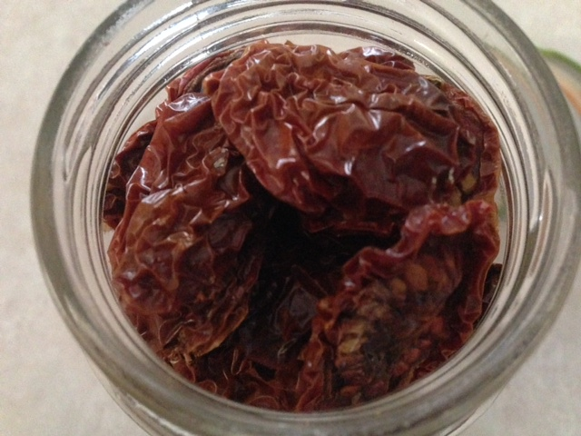 ​Sun-dried Principe Borghese tomatoes bound for some winter pasta and pizza.
